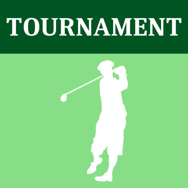 Vector drawing of golf tournament logo