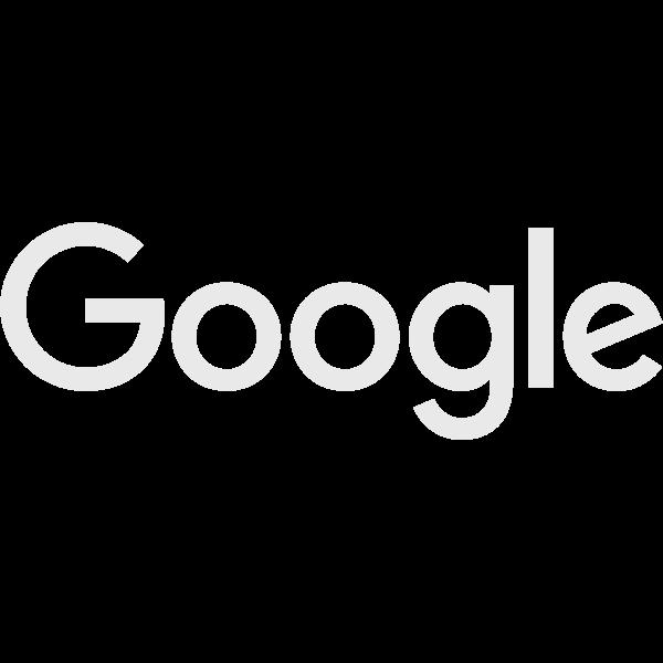 Google logo white 2015