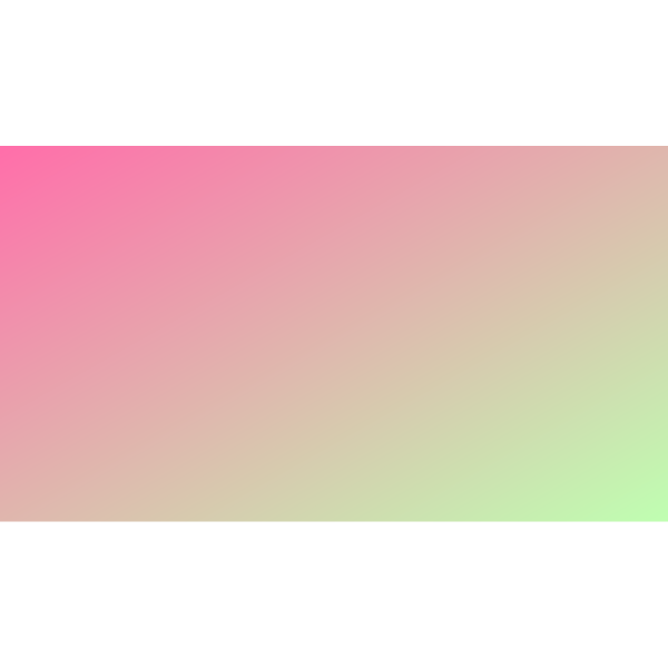 Gradient pink and green background