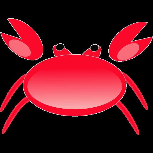 Cartoon crab