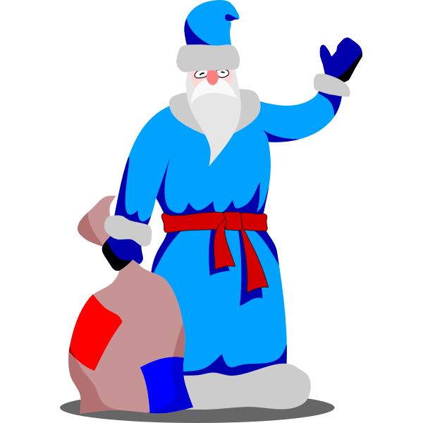 Grandpa Frost Vector by Rones