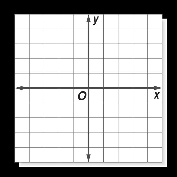 Graph template vector illustration
