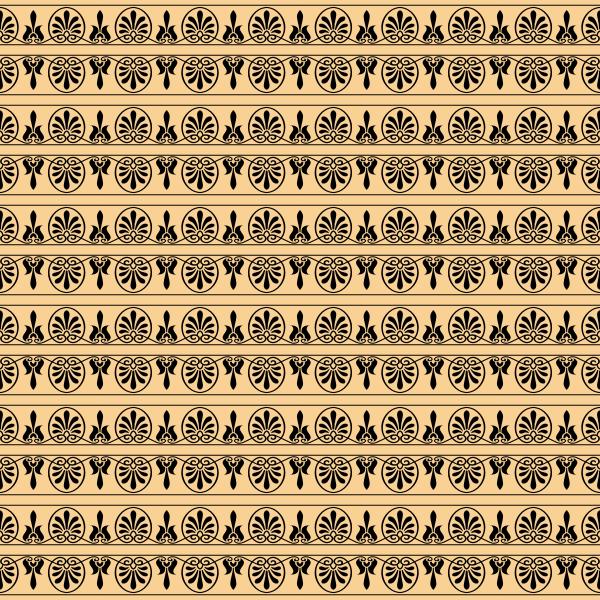 Greek arabesque seamless pattern