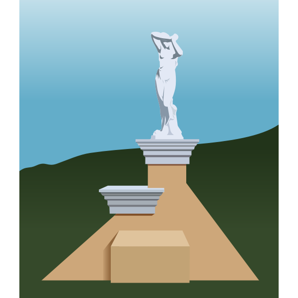 Greek statue by Rones