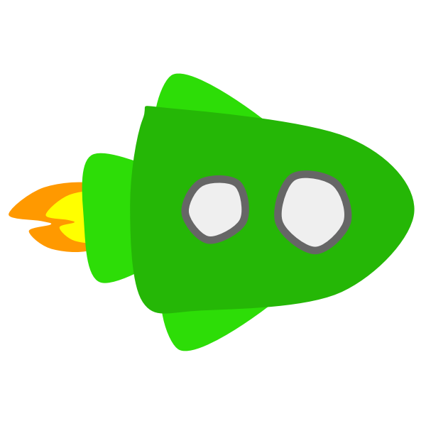 Green Spaceship