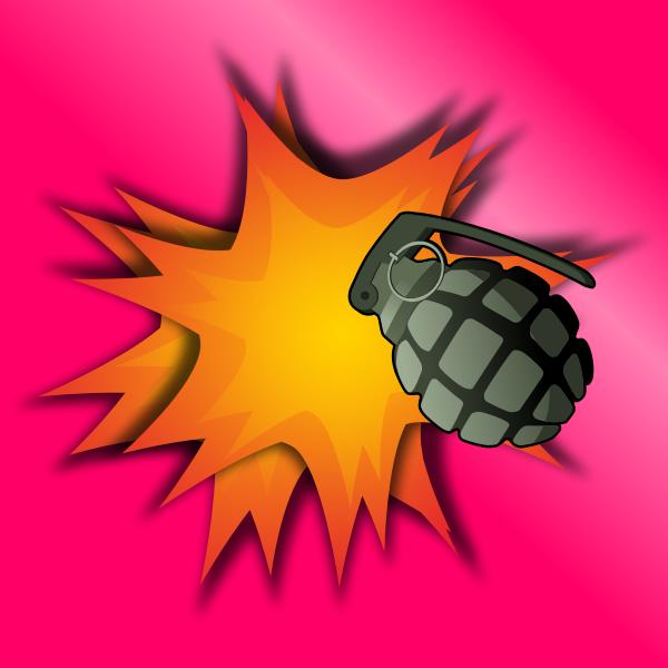 Grenade Explosion Vector