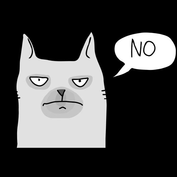 Grumpy Cat by Rones
