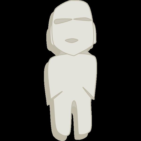 Celtic figure vector image