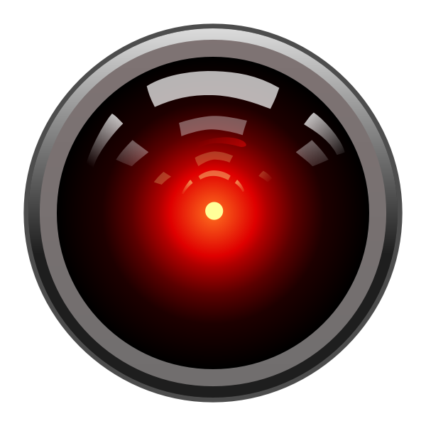 Color vector image of HAL9000