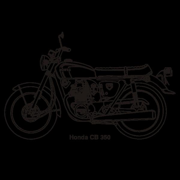 HONDA CB350 1969