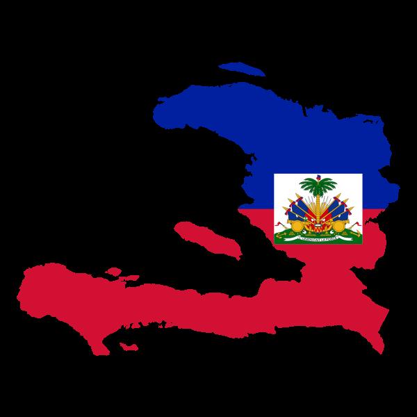 Haiti's geographical chart