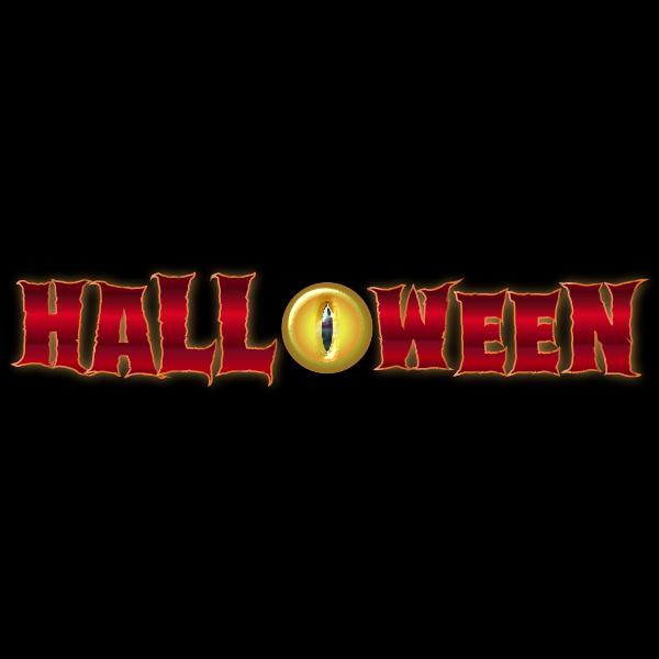 Halloween typography image