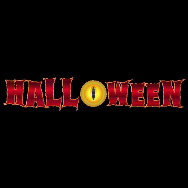 Halloween and eye