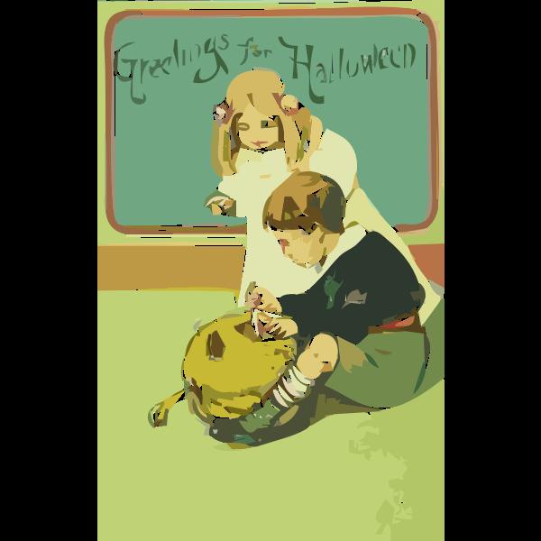 Halloween card 2017100412