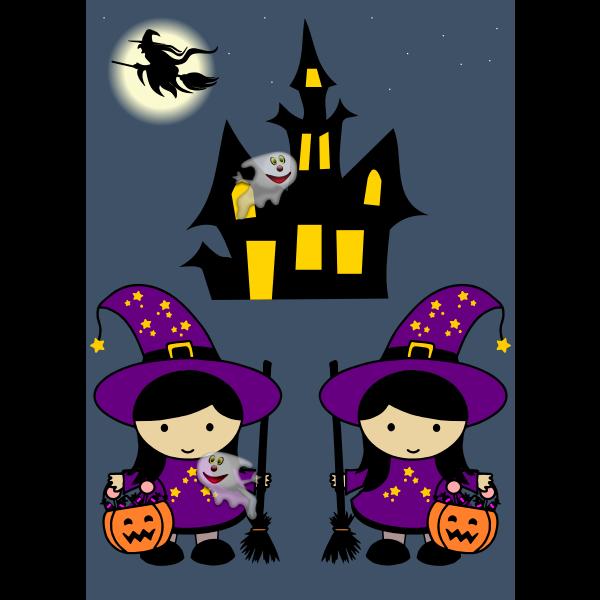 Animated Halloween With Audio