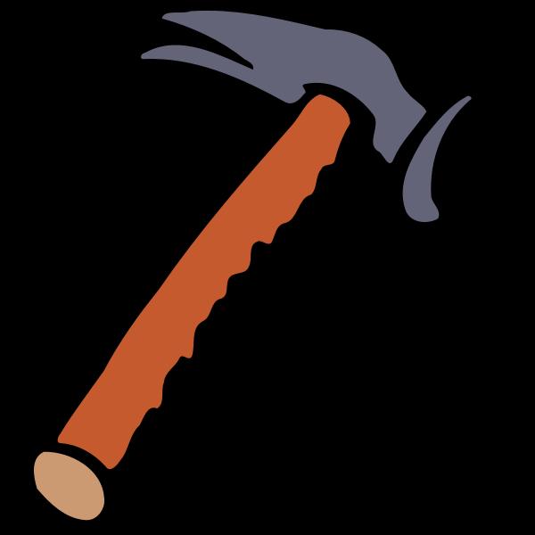 Brown sharp hammer