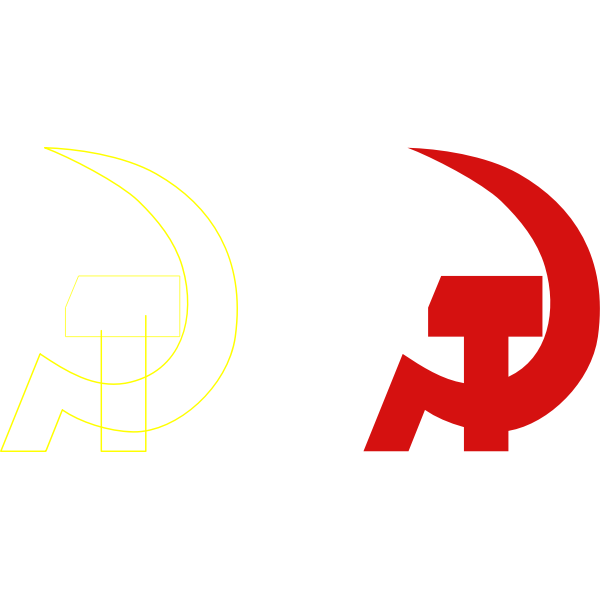 Vector image of Emblem for the elections