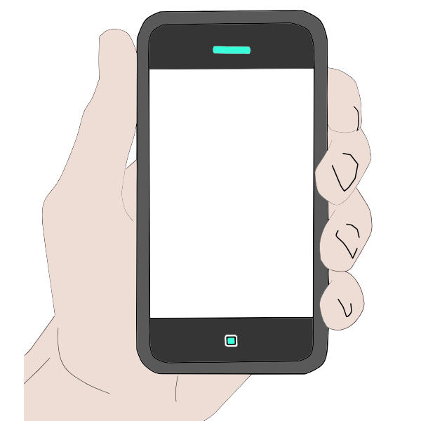 Image result for hand holding cell phone