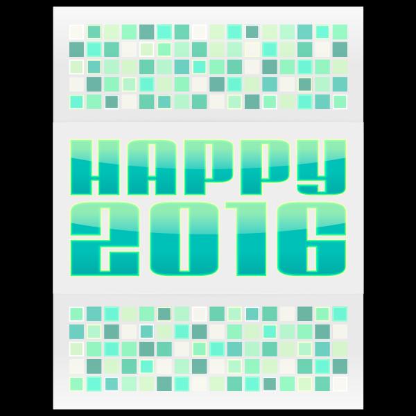 Happy 2016 Green