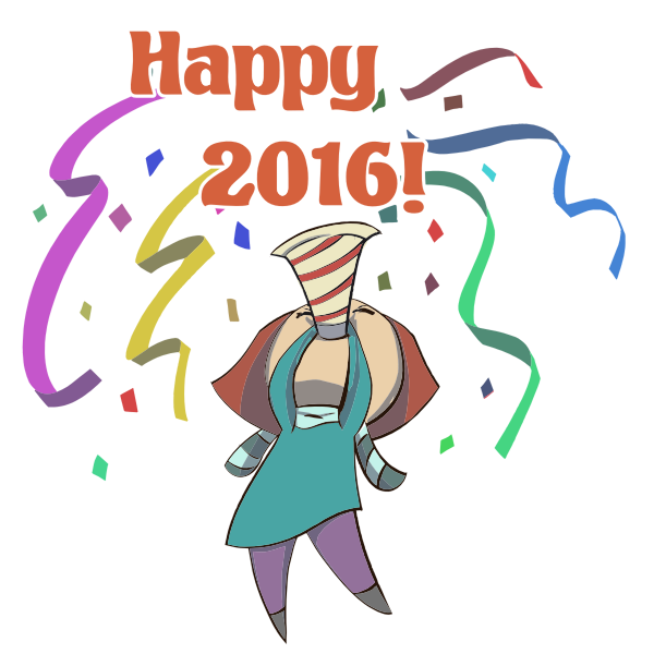 Happy 2016 Woman