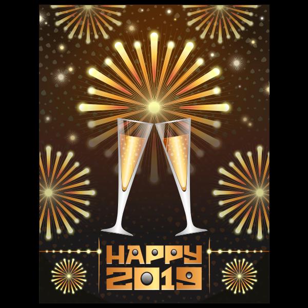 Happy 2019 Fizz