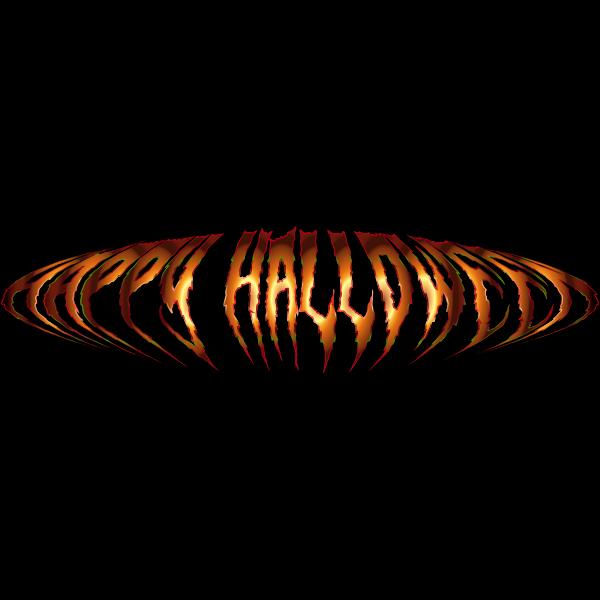 Happy Halloween Typography 10