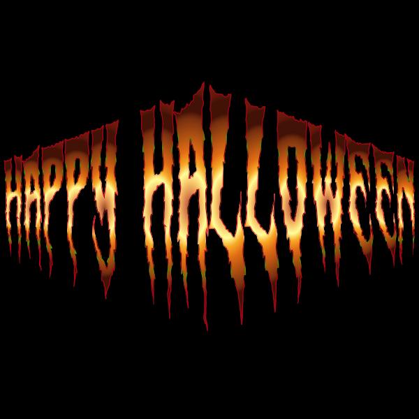 Happy Halloween Typography 6