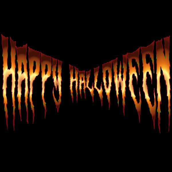 Happy Halloween Typography 7