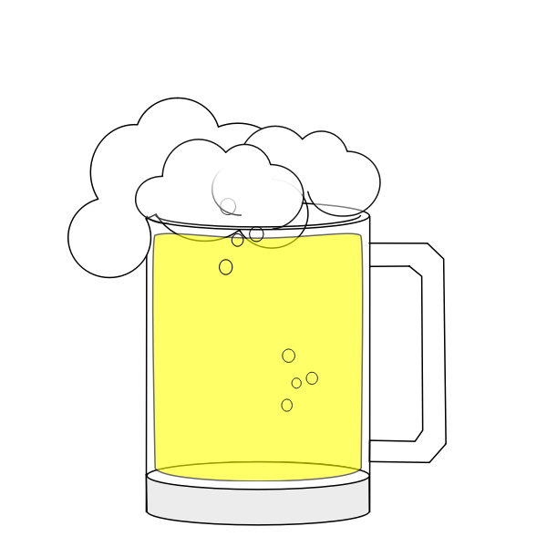 Happy Hour Beer Animation