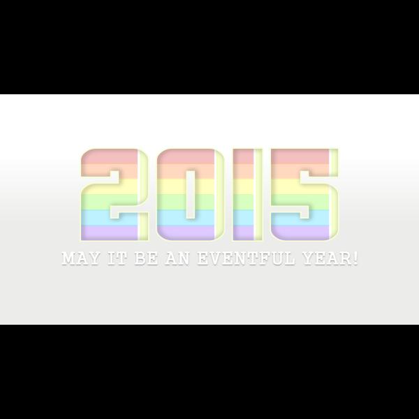 Happy New Year 2015 b
