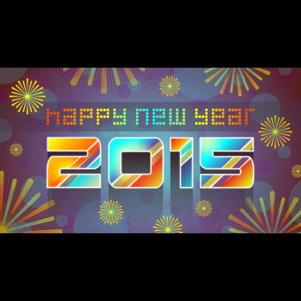 Happy New Year 2015 c