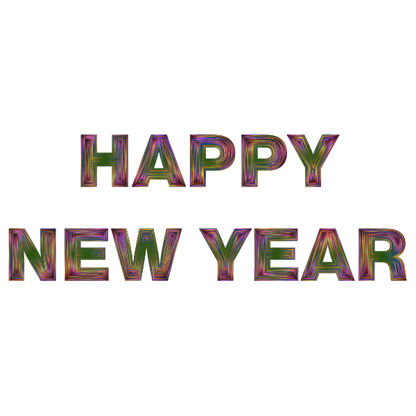happy new year chromatic free svg happy new year chromatic free svg