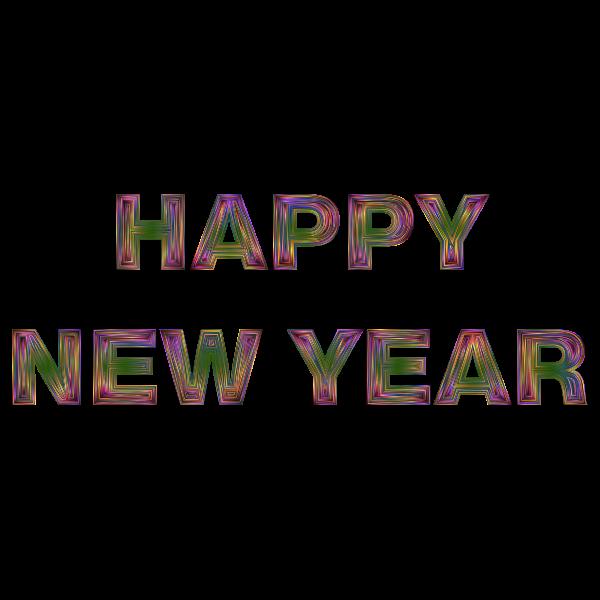 Happy New Year Chromatic