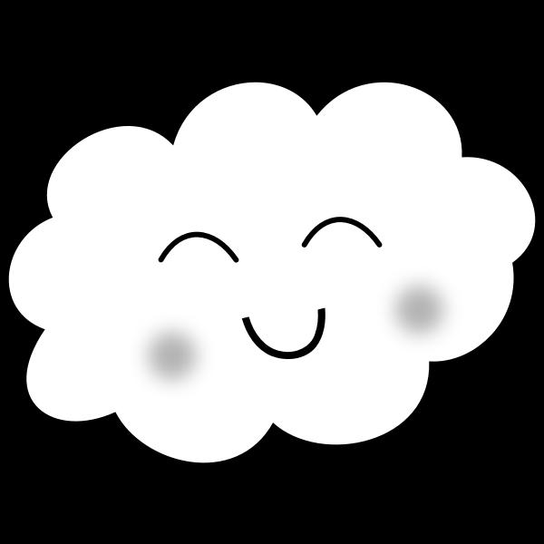 Happy loud vector graphics