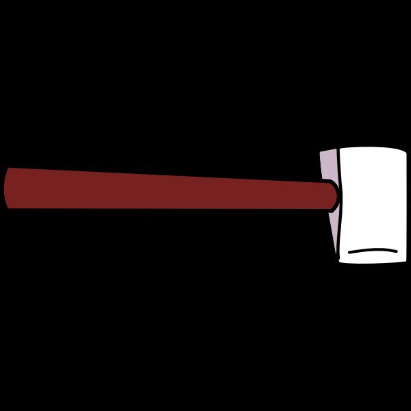 Hatchet clip art image