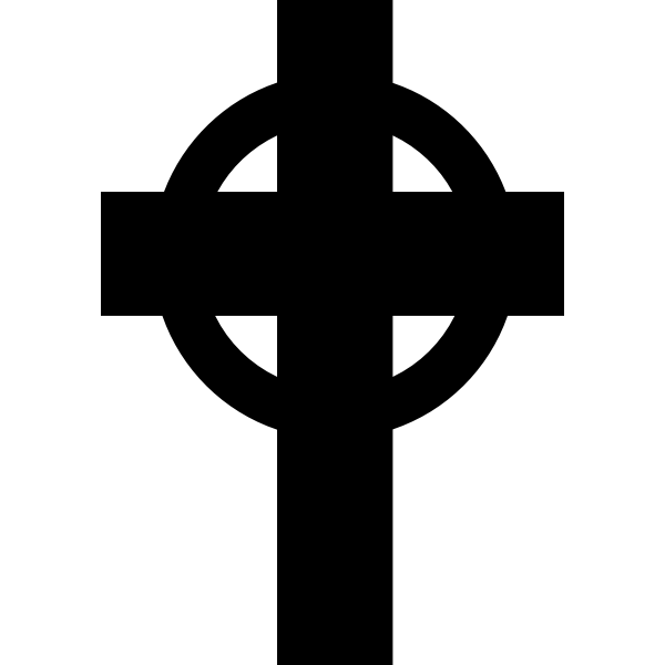 Headstone symbol