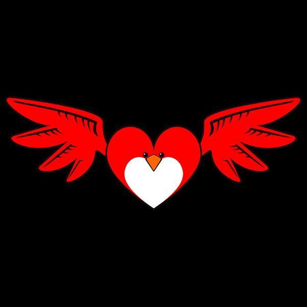 Heart Bird