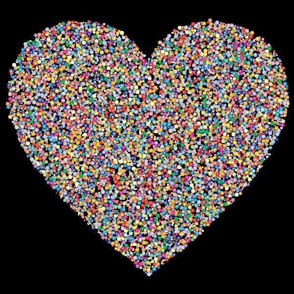 Heart Dots Prismatic