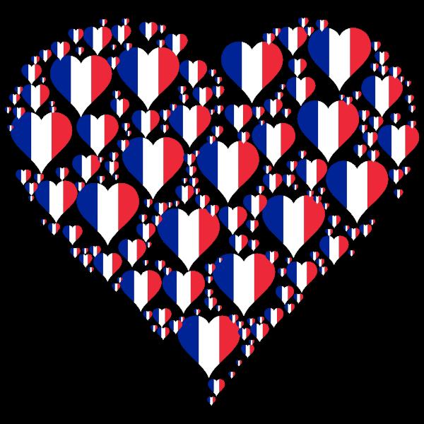 Heart France Fractal