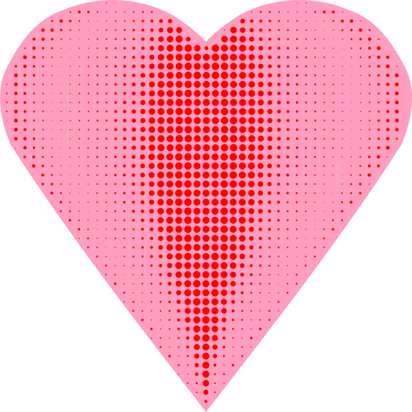 Heart halftone  Arvin61r58