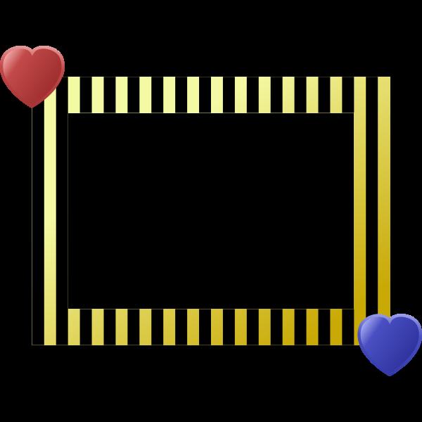 Heart Frame Retro