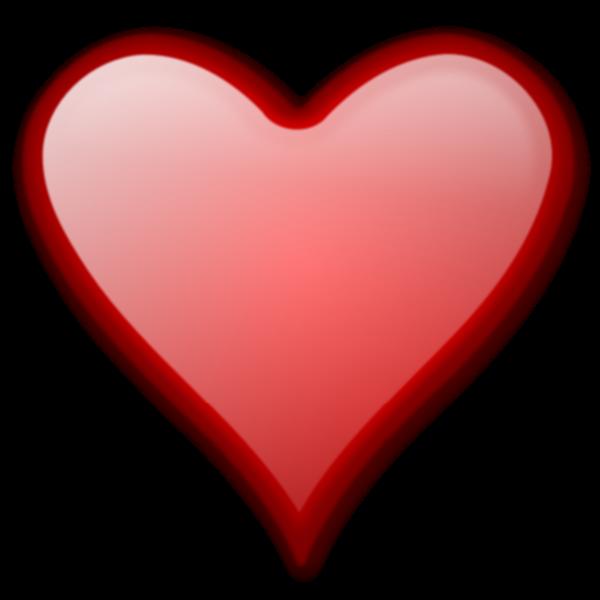 Heart gloss vector image