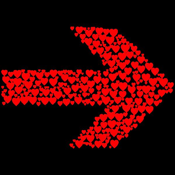Hearts Arrow