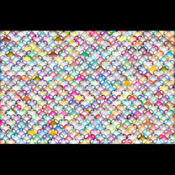 Hearts Pattern Background 4