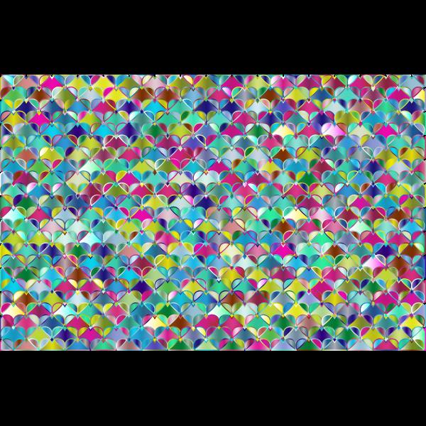 Hearts Pattern Background 7