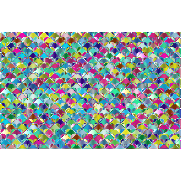 Hearts Pattern Background 7