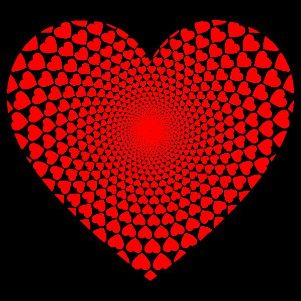 Hearts Vortex Heart