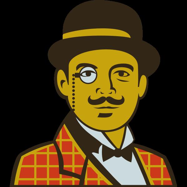 Hercule Poirot by Rones