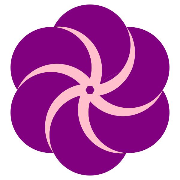 Violet circles