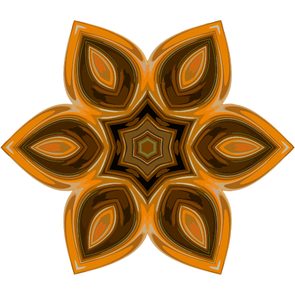 Hexagonal Symmetry Ornament-1594302324